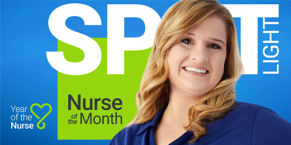 PointClickCare's June Nurse of the Month, Amanda Williams.